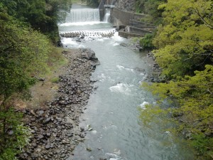 田口堰堤の写真