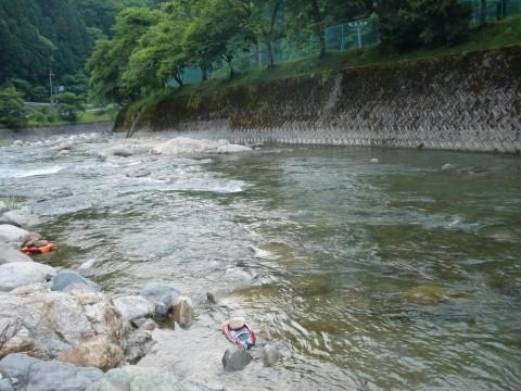 2011揖保川鮎釣り解禁しました