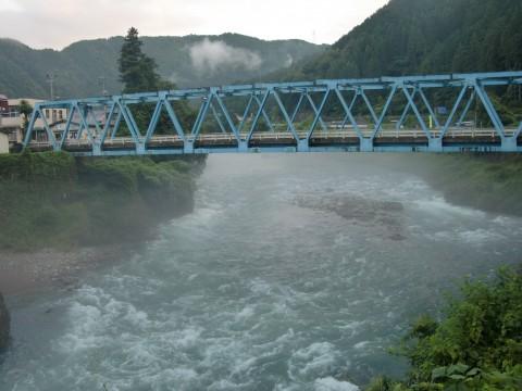 8月27日の長良川