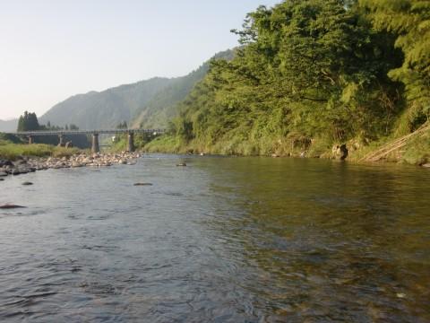 8月26日長良川鮎釣り