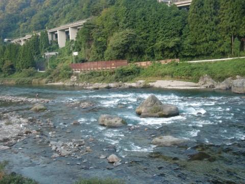 9月28、29日長良川鮎釣り