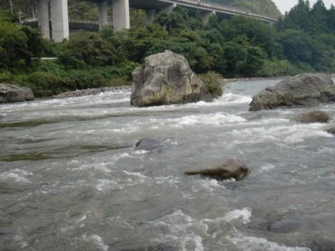 10月12日長良川鮎釣り